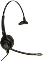 Armor H1000 Monaural RJ9 Headset with Noise Canceling Microphone
