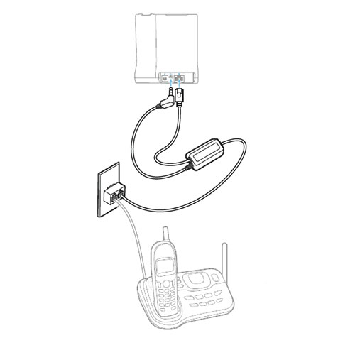 Plantronics Tr 11 Analog Phone Line Adapter For Cs500 And W700