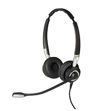 Jabra BIZ 2400 Mark II - Duo HiFi Headset - with Full Wideband Speakers