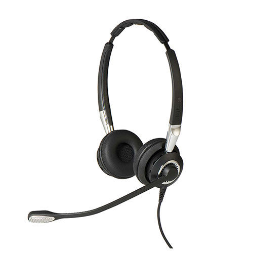 Jabra BIZ 2400 Mark II - Duo Ultra Headset - with Ultra Noise Cancelling Microphone