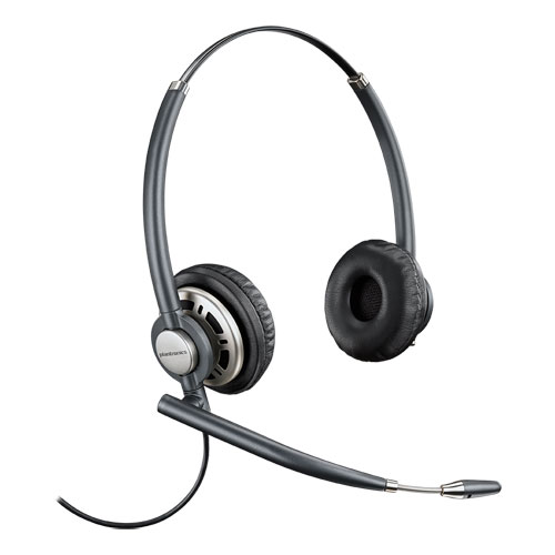 Plantronics EncorePro 720 Luxury Customer Service Headset with Noise Canceling Microphone