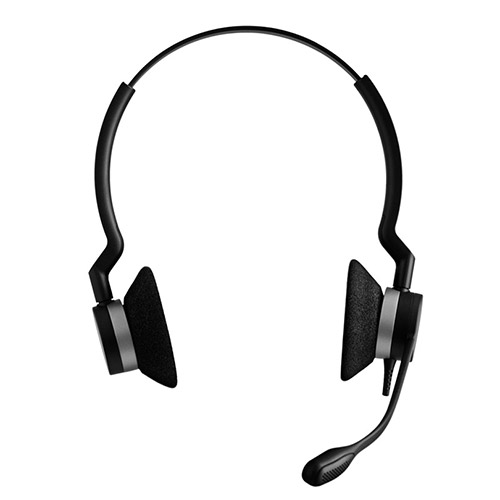 Jabra BIZ 2300 Duo QD Headset with Noise-Canceling Microphone
