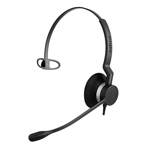 Jabra BIZ 2300 Mono QD Headset with Noise-Canceling Microphone