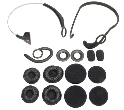 Xpressway and Xpressway 2 Refresher Kit - (1x Headband, 1x Neckband, 1x Earhook, 2 x Windscreens and 6 x Earcushion)