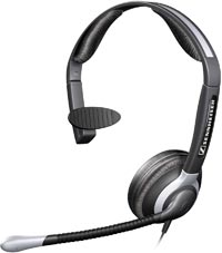 Sennheiser CC515 Monaural Headset with Ultra Noise Canceling Microphone