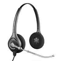 Plantronics SupraPlus HW261 Binaural Wideband Headset with Voice Tube