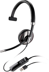 Plantronics Blackwire C710 Monaural Multimedia Headset - For Microsoft Lync