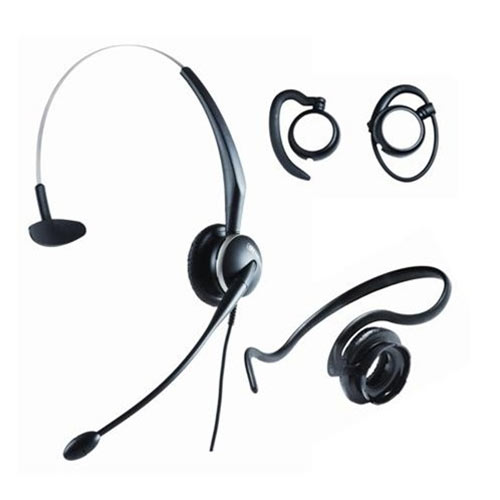 Jabra GN2124NC 4-in-1 Mono Headset with Noise-Canceling Microphone