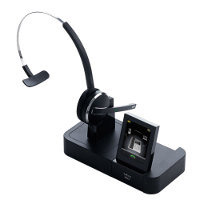 Jabra Pro 9470 - Triple Mode Wireless Headset System with Noise Blackout Microphone