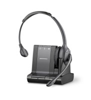 Plantronics Savi W710-M Series Monaural 3-way Connectivity Wireless Headset System Optimized for Microsoft OCS 2007 and Lync 2010