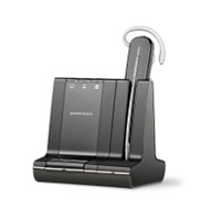 Plantronics Savi W740-M Series 3-way Connectivity Wireless Headset System Optimized for Microsoft OCS 2007 and Lync 2010